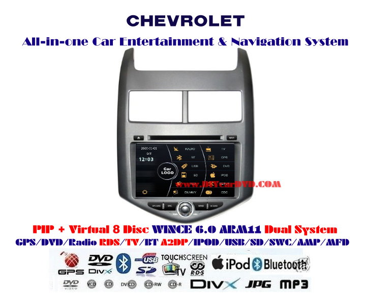 CHEVROLET Snoic Car HD Screen GPS Navigation DVD Radio 2012 cheap chevrolet sonic 2011~2013 car stereo dvd player gps 2012 chevy sonic wiring diagram at soozxer.org