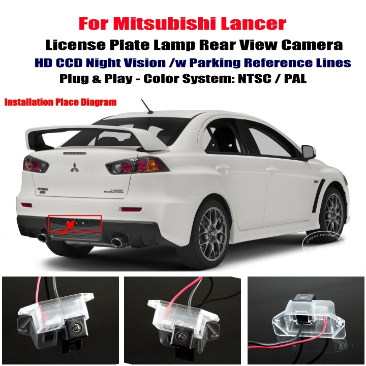Mitsubishi Lancer Rear View Camera Reverse Camera Back Up Camera cheap mitsubishi lancer car rear view camera reverse camera Factory Car Stereo Wiring Diagrams at creativeand.co