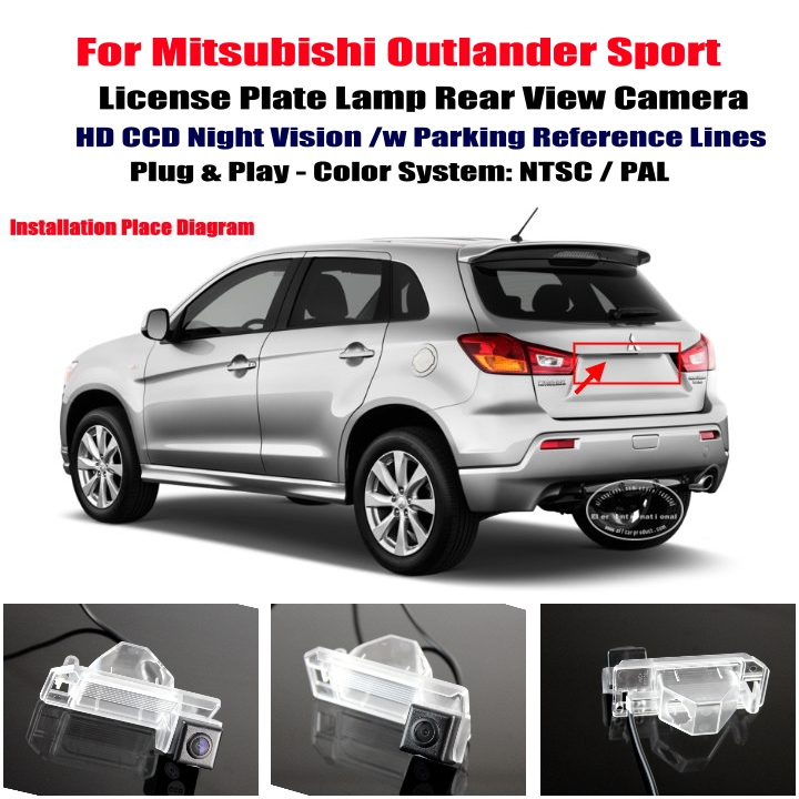 Mitsubishi Outlander Sport Rear View Camera Reverse Camera Back Up Camera cheap mitsubishi outlander sport car rear view camera reverse Factory Car Stereo Wiring Diagrams at creativeand.co