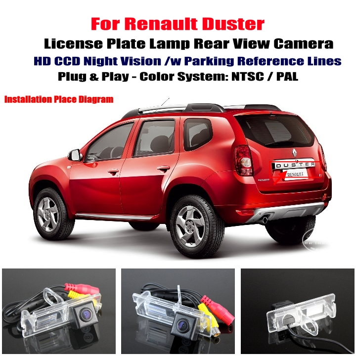 cheap renault duster car rear view camera reverse camera back up camera parking. Black Bedroom Furniture Sets. Home Design Ideas