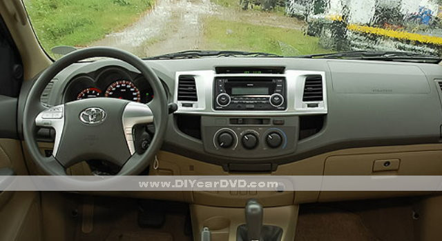 Toyota Fortuner Car Radio CD DVD Player Interior Dash Board 2012 2014 toyota fortuner car stereo wiring diagram 2006 toyota stereo  at suagrazia.org