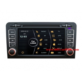 Wholesale Audi S3 2003~2013 - Car DVD Player GPS Navigation Radio Stereo HD MFD Screen 2-Core System