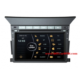 Wholesale Honda Pilot 2009~2013 - Car Stereo DVD Player GPS Navigation Radio HD MFD Screen 2-Core System