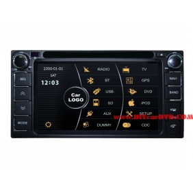 Wholesale Toyota Vios 2002~2007 - Car Stereo DVD Player GPS Navigation Radio HD MFD Screen 2-Core System