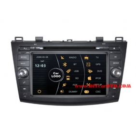 Wholesale Mazda 3 2010~2013 - Car Stereo DVD Player GPS Navigation Radio HD MFD Screen 2-Core System