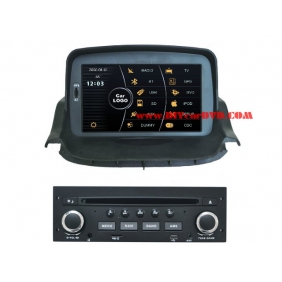 Wholesale Peugeot 206 2004~2009 - Car Stereo DVD Player GPS Navigation Radio HD MFD Screen 2-Core System