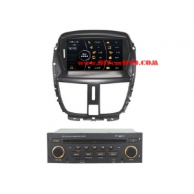 Wholesale Peugeot 206+ 2010~2012 - Car Stereo DVD Player GPS Navigation Radio HD MFD Screen 2-Core System