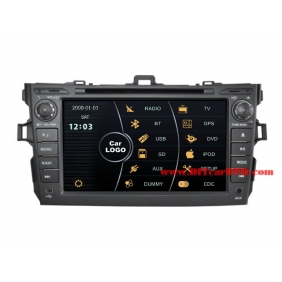 Wholesale Toyota Corolla Axio 2006~2013 - Car Stereo DVD Player GPS Navigation Radio HD MFD Screen 2-Core System
