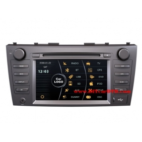cheap toyota camry europe 2012 2014 car radio tv dvd gps navi audio video system. Black Bedroom Furniture Sets. Home Design Ideas