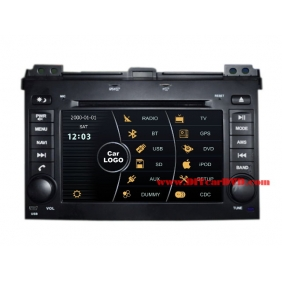 Wholesale Lexus GX 470 J120 2002~2009 - Car Stereo DVD Player GPS Navigation Radio HD MFD Screen 2-Core System