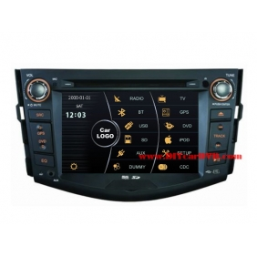 Wholesale Toyota RAV4 2005~2012 - Car Stereo DVD Player GPS Navigation Radio HD MFD Screen 2-Core System