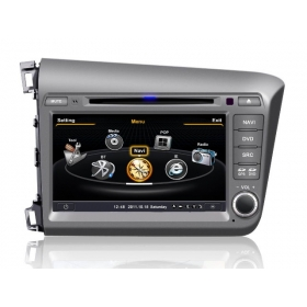 Wholesale Honda CIVIC 2012~2013 - Car GPS Navigation DVD Player Radio Stereo S100 Multimedia System