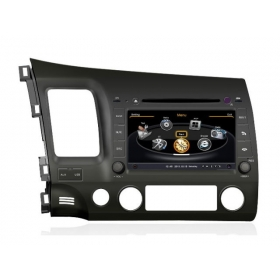 Wholesale Honda CIVIC 2006~2011 - Car GPS Navigation DVD Player Radio Stereo S100 Multimedia System