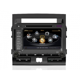 Wholesale Toyota Land Cruiser LC 200 2008~2013 - Car GPS Navigation DVD Player Radio Stereo S100 Multimedia System