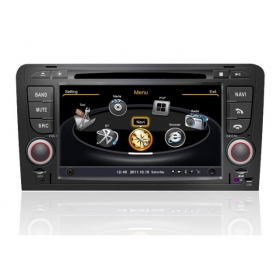 Wholesale Audi S3 2003~2013 - Car GPS Navigation DVD Player Radio Stereo S100 Multimedia System