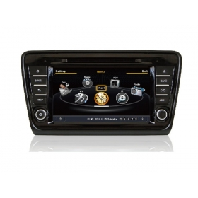 Wholesale Skoda Octavia MK3 2013~2014 - Car GPS Navigation DVD Player Radio Stereo S100 Multimedia System