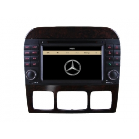 Wholesale Mercedes Benz S Class W220 1995~2005 - Car Stereo Radio DVD GPS Navigation 1080P HD Screen System