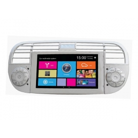 Wholesale FIAT 500 2007~2013 - Car Stereo Radio DVD GPS Navigation 1080P HD Screen System