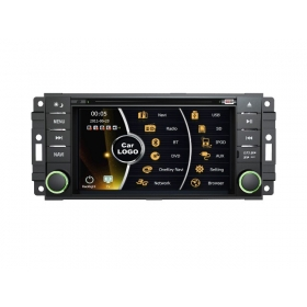 Wholesale Dodge Challenger 2008~2011 - Car Stereo DVD Player GPS Navigation Radio HD MFD Screen 4-Core System