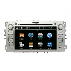 Wholesale Ford S-Max 2008~2011 - Car Radio DVD Player GPS Navigation Advanced A5 System