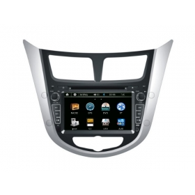 Wholesale Hyundai Accent 2011~2013 - Car Radio DVD Player GPS Navigation Advanced A5 System
