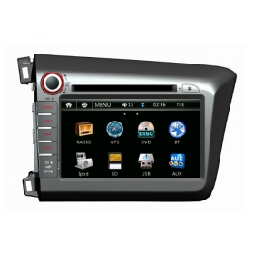Wholesale Honda CIVIC 2012~2013 - Car Radio DVD Player GPS Navigation Advanced A5 System