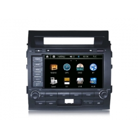 Wholesale Toyota Land Cruiser LC 200 2008~2013 - Car Radio DVD Player GPS Navigation Advanced A5 System