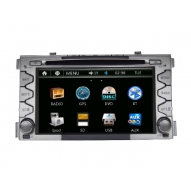 Wholesale KIA Soul 2008~2011 - Car Radio DVD Player GPS Navigation Advanced A5 System