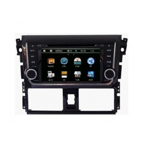 Wholesale Toyota Vios 2013~2014 - Car Radio DVD Player GPS Navigation Advanced A5 System