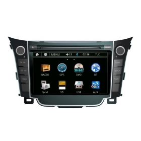 Wholesale Hyundai i30 2012~2013 - Car Radio DVD Player GPS Navigation Advanced A5 System