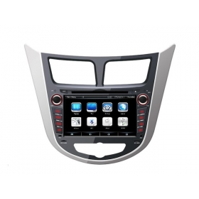 Wholesale Hyundai Accent 2011~2013 - Car Radio TV DVD GPS NAVI Audio & Video System