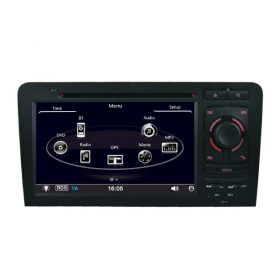 Wholesale Audi A3 2003~2013 - Car Stereo Radio DVD GPS Navigation 1080P HD Screen System