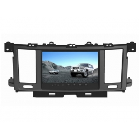 Wholesale Nissan Safari 2011~2012 - Car Radio DVD Player GPS Navigation Advanced A5 System