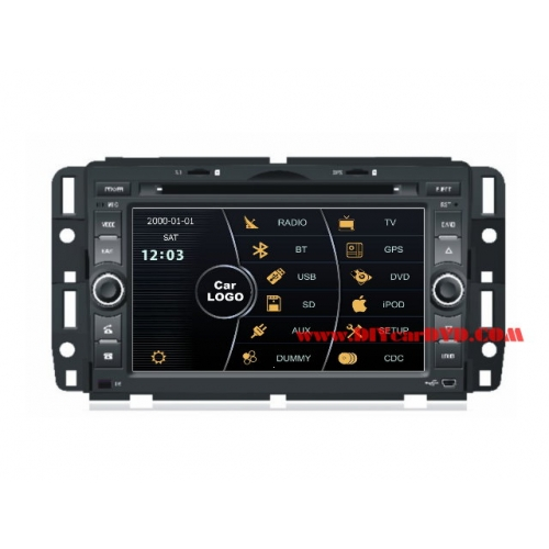Wholesale Buick Lucerne 2006~2011 - Car Stereo DVD Player GPS Navigation Radio HD MFD Screen 2-Core System