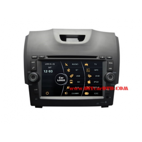 Wholesale Isuzu D-Max 2012~2013 - Car Stereo DVD Player GPS Navigation Radio HD MFD Screen 2-Core System