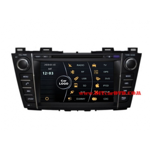 Wholesale Mazda Premacy 2011~2013 - Car Stereo DVD Player GPS Navigation Radio HD MFD Screen 2-Core System