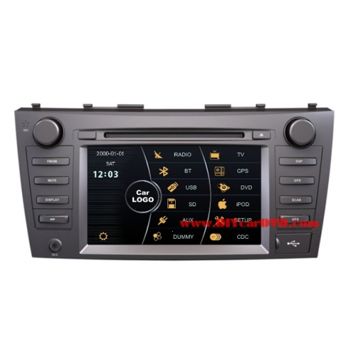 Wholesale Toyota Camry 2006~2011 - Car Stereo DVD Player GPS Navigation Radio HD MFD Screen 2-Core System