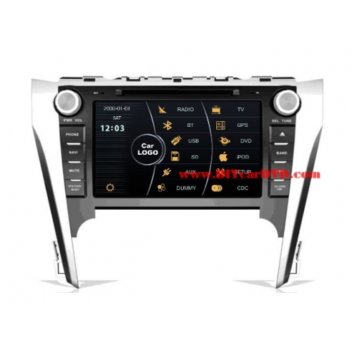 Wholesale Toyota Camry 2012~2013 - Car Stereo DVD Player GPS Navigation Radio HD MFD Screen 2-Core System