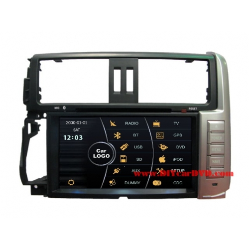 Wholesale Lexus GX 460 J150 2010~2013 - Car Stereo DVD Player GPS Navigation Radio HD MFD Screen 2-Core System