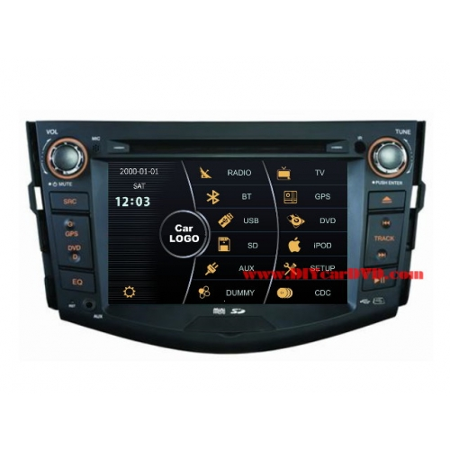 Wholesale Toyota Vanguard 2005~2012 - Car Stereo DVD Player GPS Navigation Radio HD MFD Screen 2-Core System