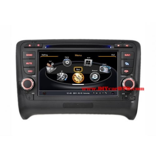 Wholesale Audi TT 2006~2013 - Car GPS Navigation DVD Player Radio Stereo S100 Multimedia System
