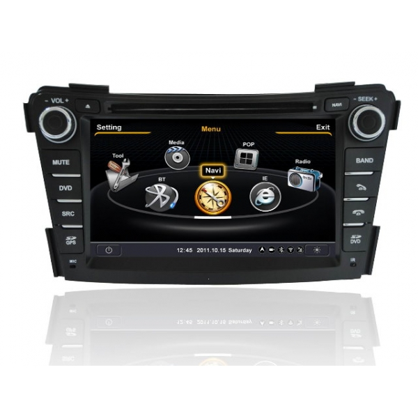 Wholesale Hyundai i40 2011~2013 - Car GPS Navigation DVD Player Radio Stereo S100 Multimedia System
