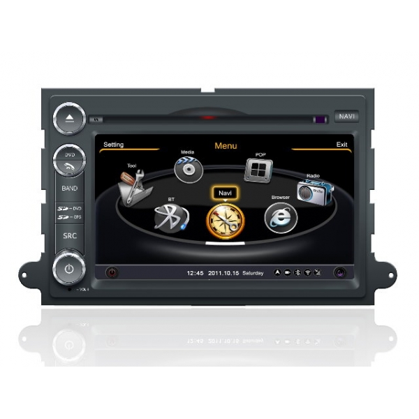 Wholesale Lincoln Mark LT 2007~2009 - Car GPS Navigation DVD Player Radio Stereo S100 Multimedia System
