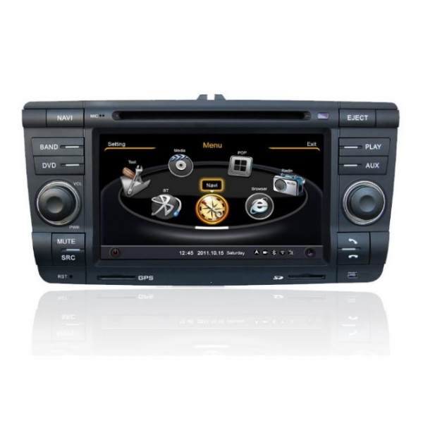 Wholesale Skoda Laura 2009~2012 - Car GPS Navigation DVD Player Radio Stereo S100 Multimedia System