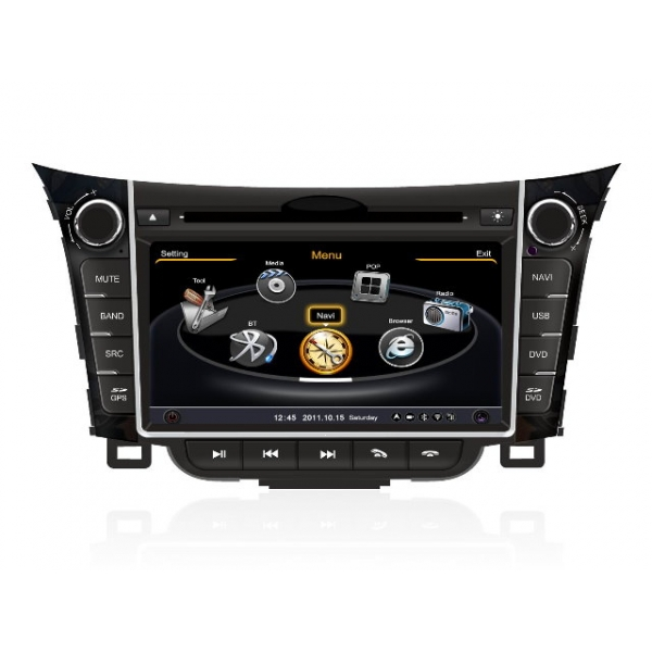 Wholesale Hyundai i30 2012~2013 - Car GPS Navigation DVD Player Radio Stereo S100 Multimedia System
