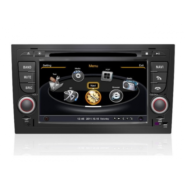 Wholesale Audi S4 2002~2007 - Car GPS Navigation DVD Player Radio Stereo S100 Multimedia System