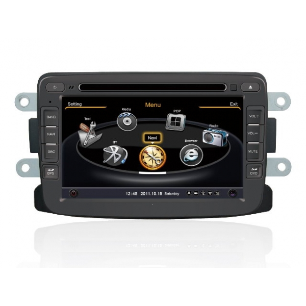 Wholesale Renault Duster 2010~2013 - Car GPS Navigation DVD Player Radio Stereo S100 Multimedia System