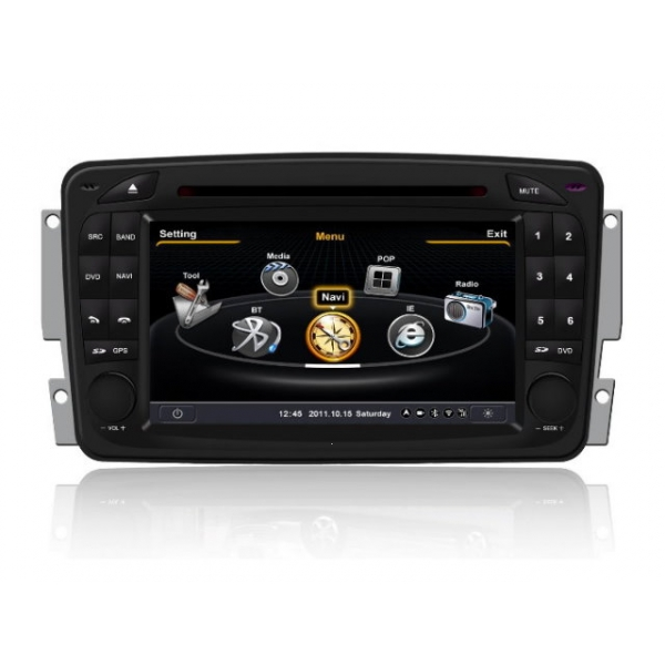 Wholesale Mercedes Benz G-Class W463 1998~2004 - Car GPS Navigation DVD Player Radio Stereo S100 Multimedia System