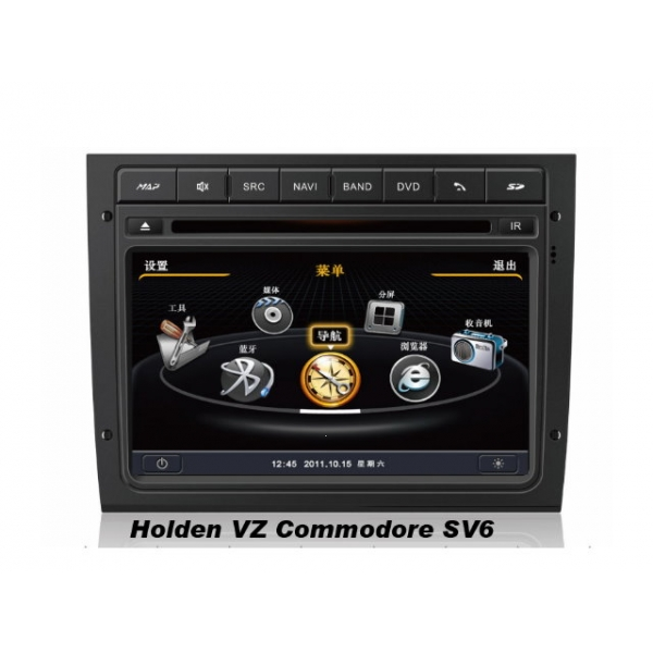 Wholesale Holden VZ Commodore SV6 2004~2007 - Car GPS Navigation DVD Player Radio Stereo S100 Multimedia System