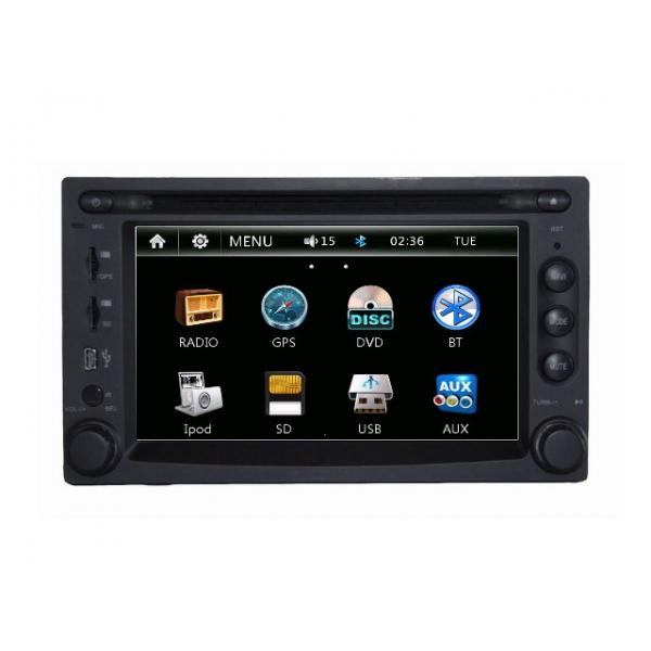Wholesale Pontiac Grand AM 2001~2003 - Car Radio DVD Player GPS Navigation Advanced A5 System